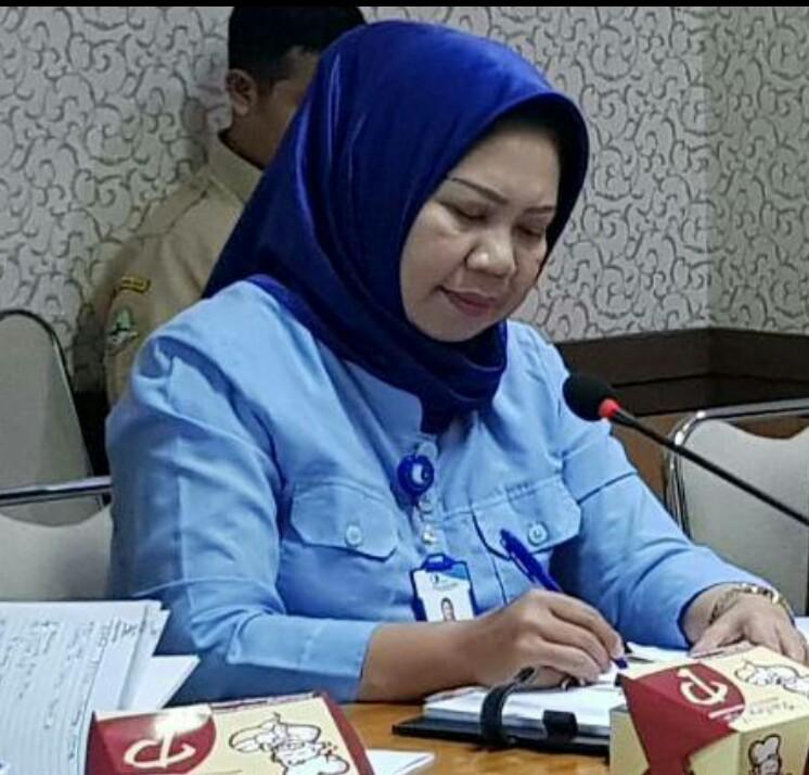 Manajer Junior Humas dan Kesekretariatan Perumda Air Minum Tirta Raharja Kabupaten Bandung, Sri Hartati