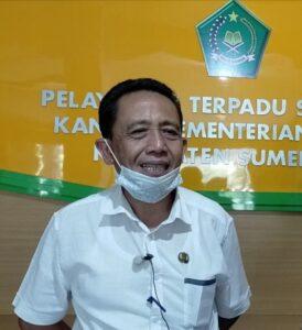Plt Kasi Bimas Islam Kemenag Sumedang, DRS. Sjamsuridjal M.E.Sy